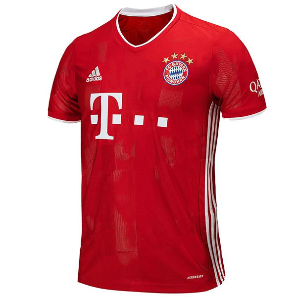 Bayern munich home jersey sportwear men's 1st soccer shirt football sport t-shirt 2020-2021