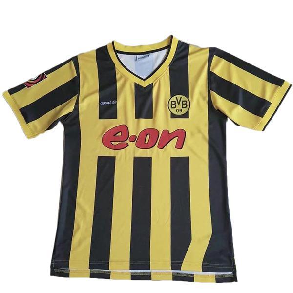 Borussia Dortmund home retro soccer jersey maillot match men's 1st sportwear football shirt 2000