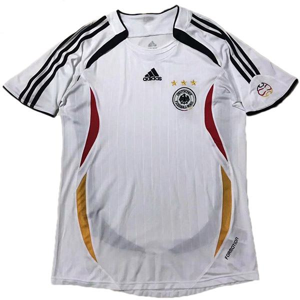 Germany Home Retro Jersey White 2006
