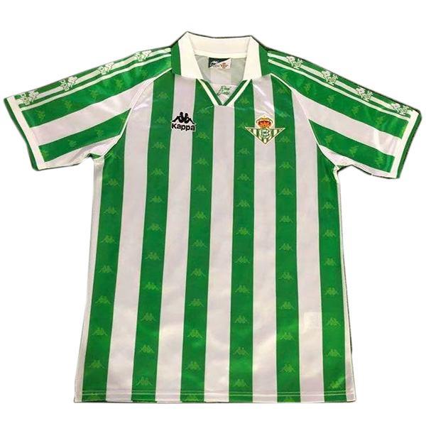 Real Betis home retro jersey maillot match men's 1st soccer sportwear football shirt 1995-1997