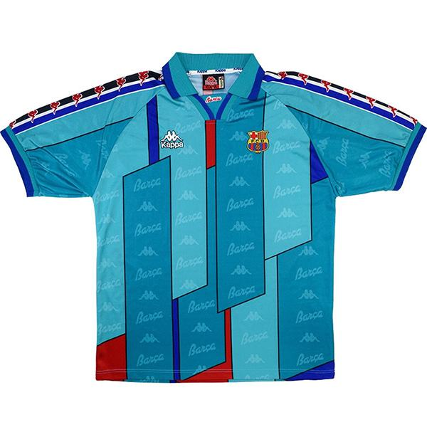 Barcelona away retro soccer jersey maillot match men's 2ed sportwear football shirt 1996-97