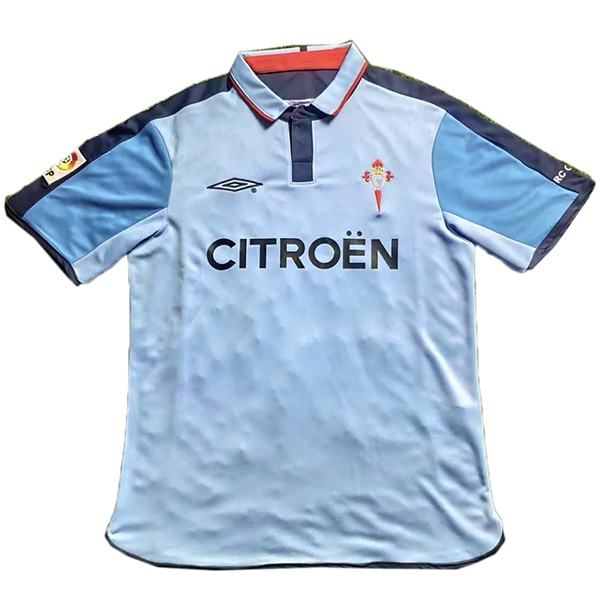 Celta retro soccer jersey maillot match men's sportwear football shirt 2002-2004