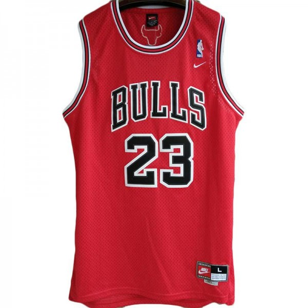 Bulls Michael Jordan Road 23 Basketball Uniforms AU Retro Jerseys