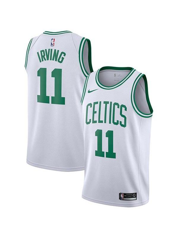 Boston Celtics #11 Kyrie Irving NEWCity Edition Swingman Jersey