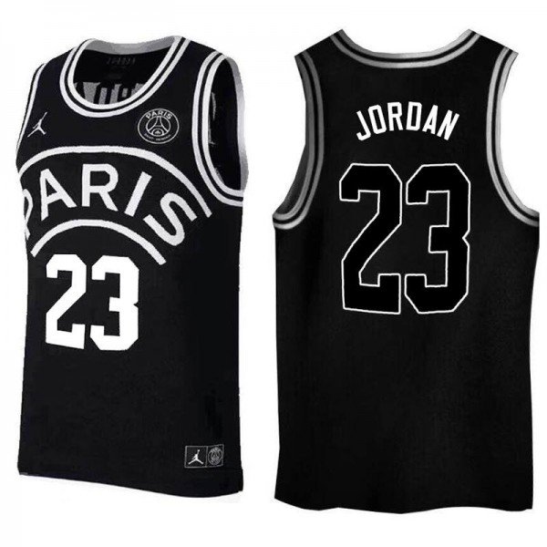 Jordan Paris Saint Germain 23 Basketball Jersey 2018/2019 black