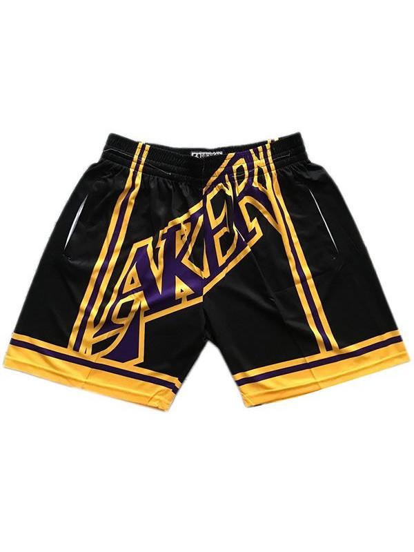 Men's Lakers basketball jersey mitchell ness big face ...