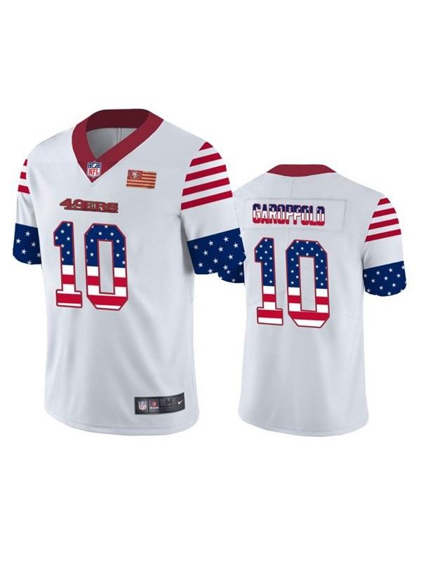 Men's nfl retro american national football jimmy garoppolo ...