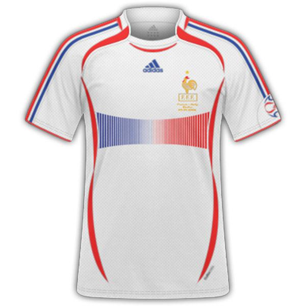 2006 World Cup France Away Retro Soccer Jersey