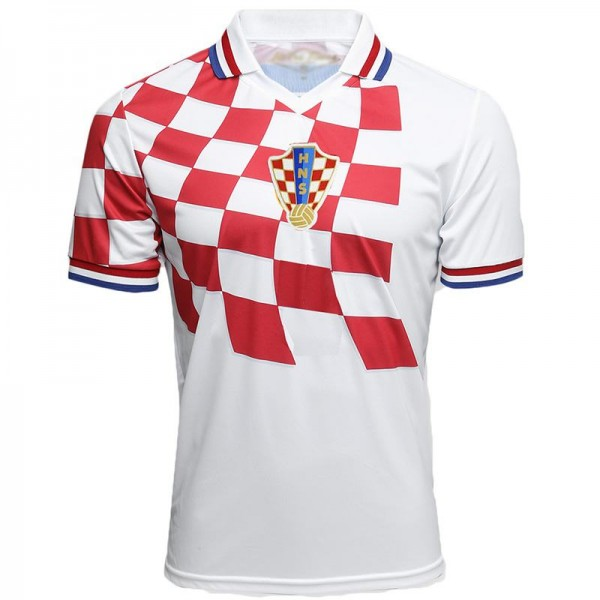 Croatia Home 1998 world cup Vintage Soccer Jersey