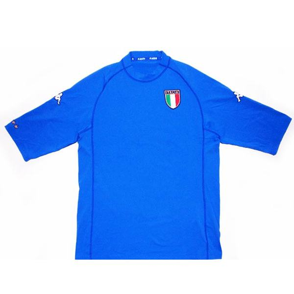 Italy home retro jersey maillot match men's 1st soccer sportwear football shirt 2000