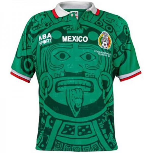 Mexico Home 1998 world cup Vintage Soccer Jersey