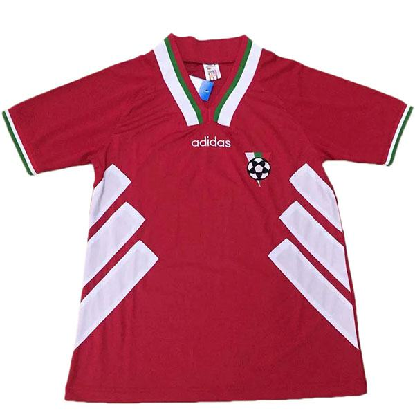 Bulgaria Retro Jersey Red Men's Soccer Sportwear Football Shirt 1994