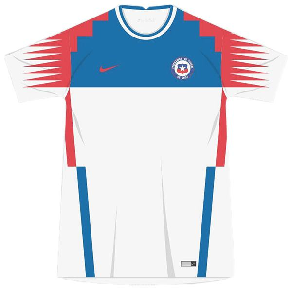 Chile away jersey maillot match men's 2ed soccer sportwear football shirt 2020 EURO