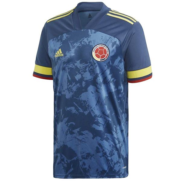 Colombia away jersey maillot match men's 2ed soccer sportwear football shirt 2020