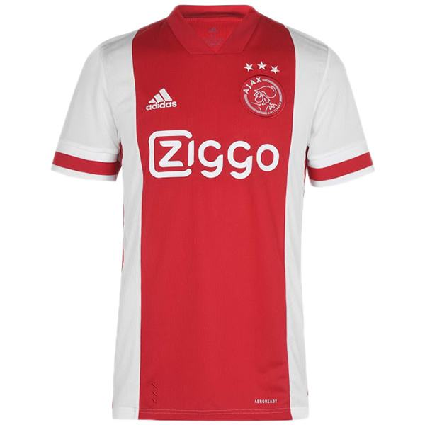 Ajax home jersey maillot match soccer men's 1st sportwear football shirt 2020-2021