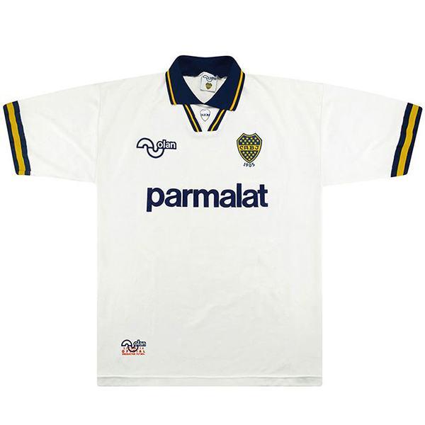 Boca juniors away retro jersey soccer maillot match men's second sportswear football shirt 1994-1995