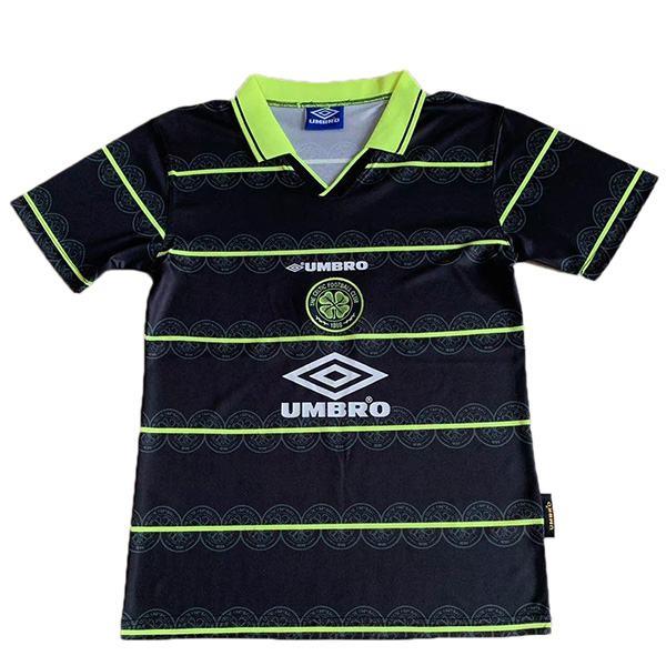 Celtic away retro soccer jersey maillot match men's 2ed sportwear football shirt 1998