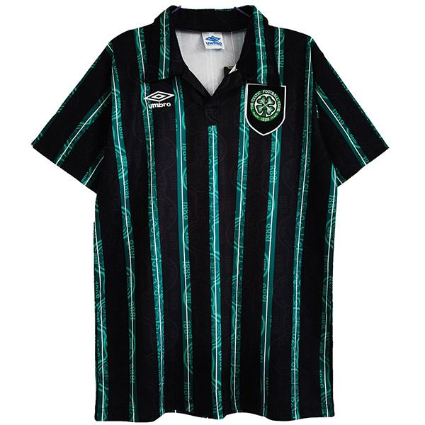 Celtic away retro soccer jersey match men's sportwear football shirt 1992-1993