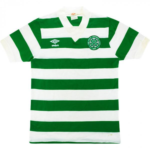 Celtic Home Retro Jersey Men's 1st Soccer Sportwear Football Shirt 1980/82