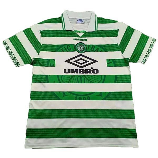Maglia Celtic Home Retro Jersey Men's 1st Soccer Sportwear Football Shirt 1997-1999