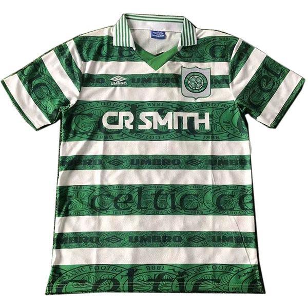 Celtic home retro soccer jersey maillot match men's 1st sportwear football shirt 1995-1997