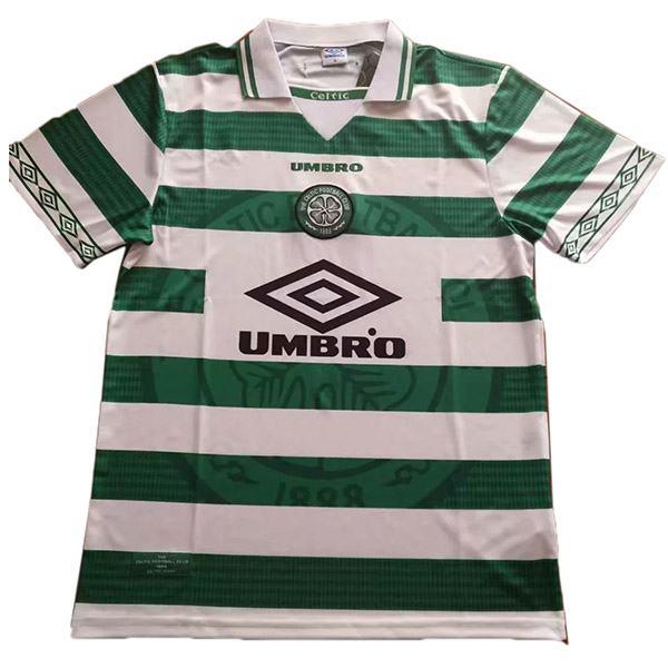 Celtic home retro soccer jersey maillot match men's 1st sportwear football shirt 1998