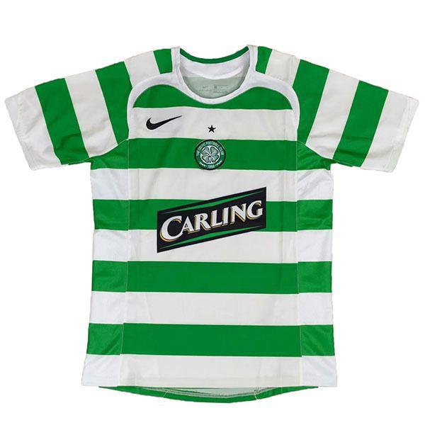 Celtic home retro soccer jersey maillot match men's 1st sportwear football shirt 2005-2006