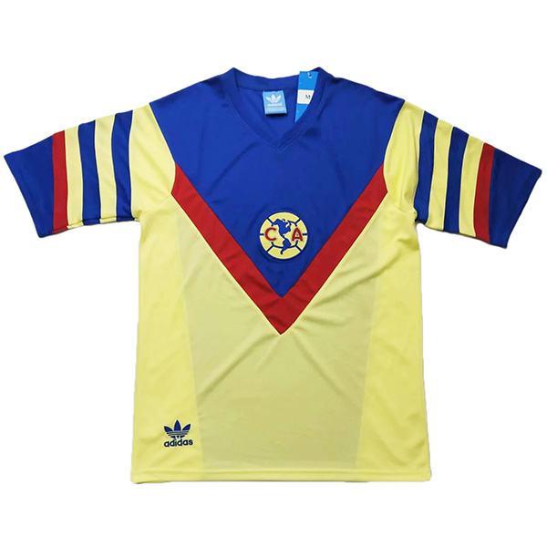 Club America home retro soccer jersey maillot match men's 1st sportwear football shirt 1987