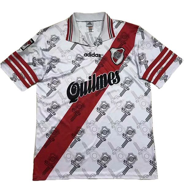 River Plate Home Retro Jersey Men's Soccer Sportwear Football Shirt 1996