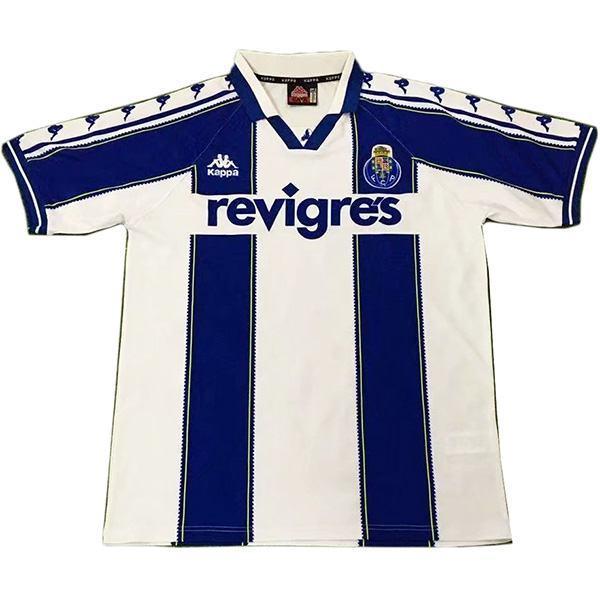 FC Porto home retro vintage soccer jersey match men's first sportswear football shirt white 1997-1999