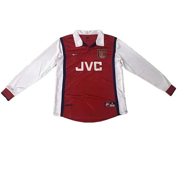 Arsenal Home Long Sleeve Retro Jersey 1998