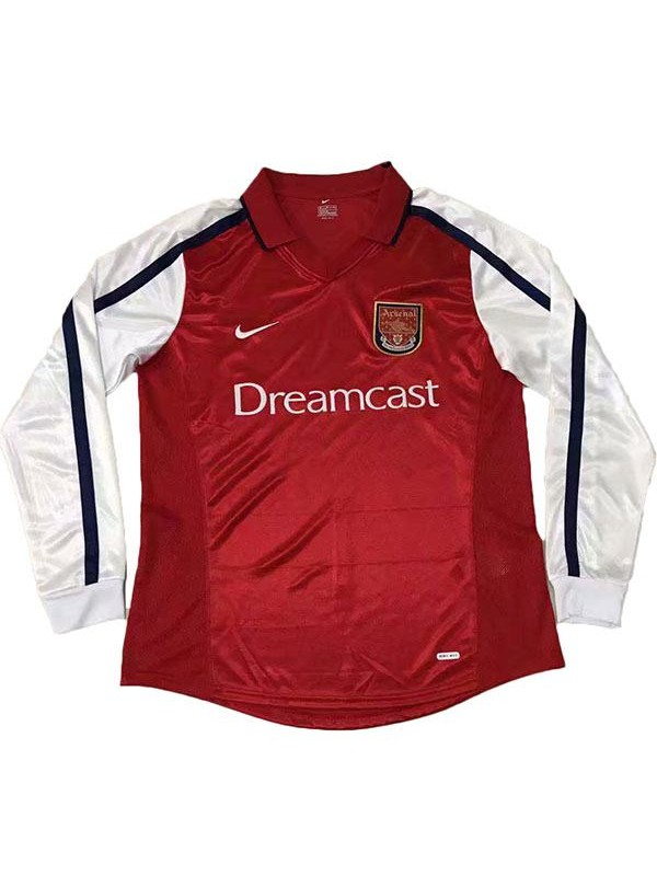Arsenal Home Long Sleeve Retro Jersey 2000