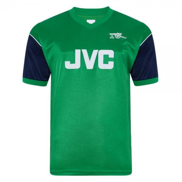 Arsenal away retro soccer jersey maillot match men's 2ed sportwear football shirt 1982
