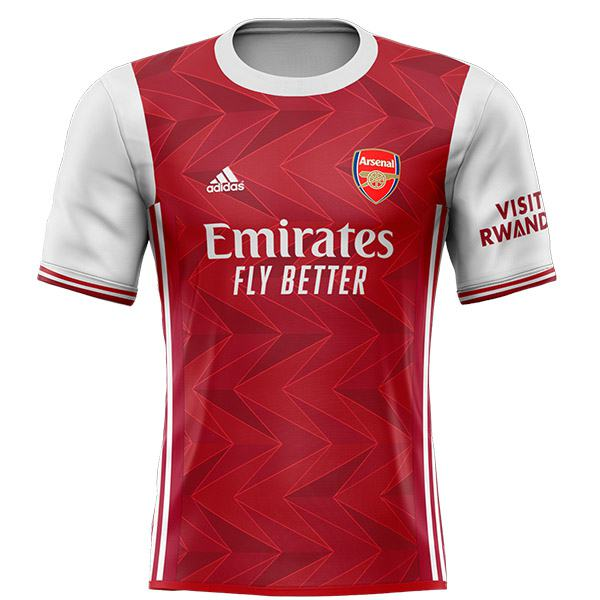 Arsenal home jersey sportwear men's 1st soccer shirt football sport t-shirt 2020-2021