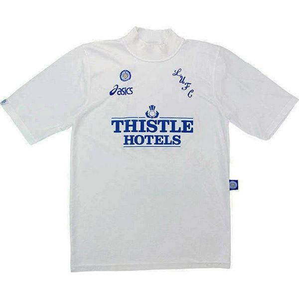 Leeds united home retro soccer jersey maillot match men's 1st sportwear football shirt 1995-1996