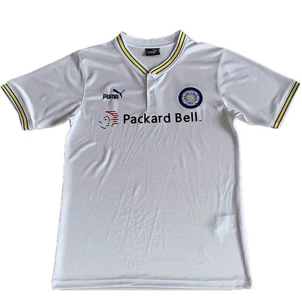 Leeds united home retro soccer jersey maillot match men's 1st sportwear football shirt 1998