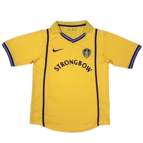Leeds united home retro soccer jersey maillot match men's 1st sportwear football shirt 2000-2001
