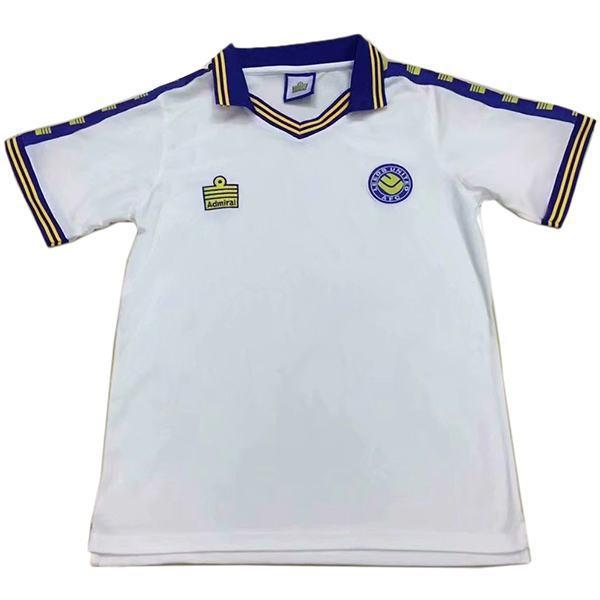 Leeds United home retro vintage soccer jersey match men's first sportswear football shirt 1978