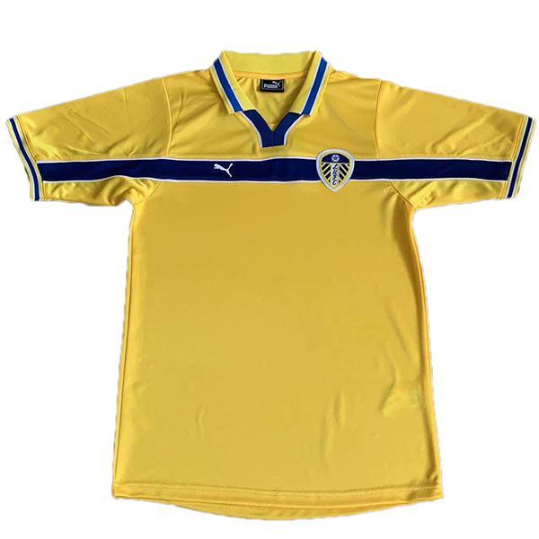 Leeds united third retro soccer jersey maillot match men's 3rd sportwear football shirt 1999