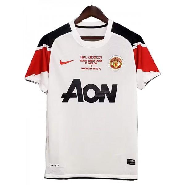 Manchester United away retro soccer jersey final london maillot match men's 2ed sportwear football shirt 2010-2011