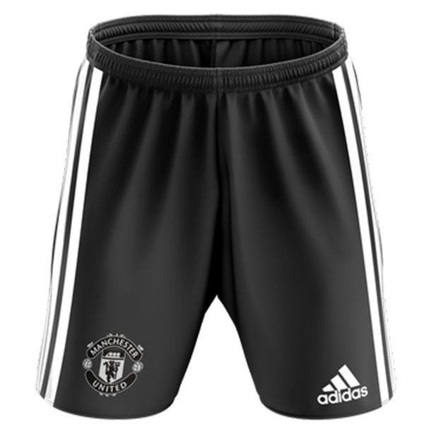 Manchester united away soccer shorts maillot match men's 2ed sportwear football pants 2020-2021