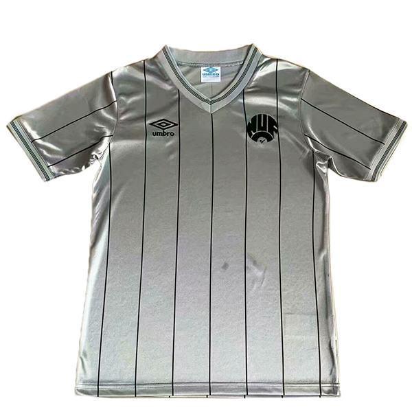 Newcastle United away retro vintage soccer jersey match men's second sportswear football 1984-1986
