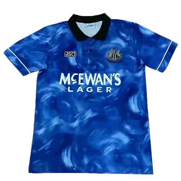 Newcastle United away retro vintage soccer jersey match men's second sportswear football 1994-1995
