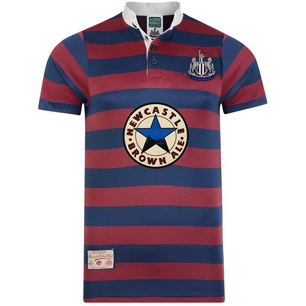 Newcastle United home retro jersey vintage soccer match men's first sportswear football shirt 1996-1997