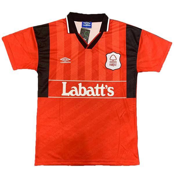 Nottingham Forest home retro soccer jersey men's sportswear football shirt 1994-1995