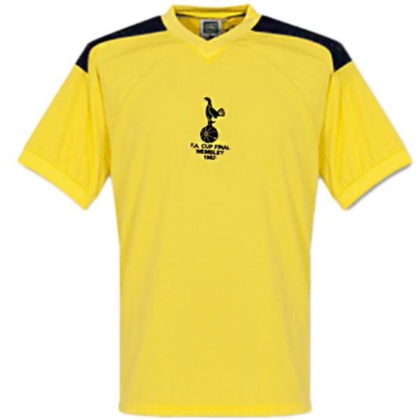 Tottenham Hotspur away retro soccer jersey match men's second sportswear football shirt 1982