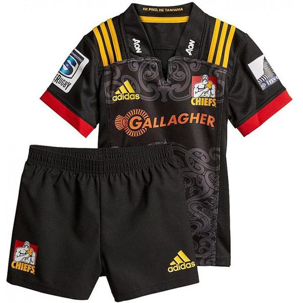 Chiefs home mini kit rugby Jersey 2018/2019 black