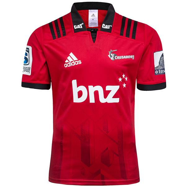 Crusaders home rugby Jersey 2018/2019 red