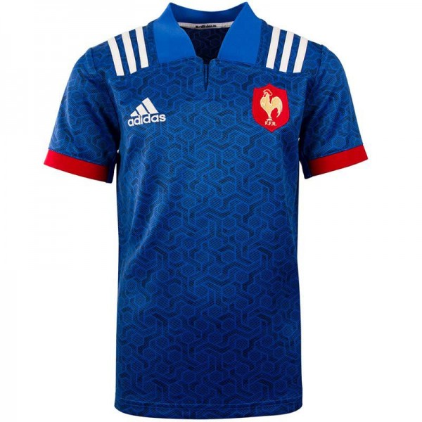 France home rugby jersey 2018-2019 blue