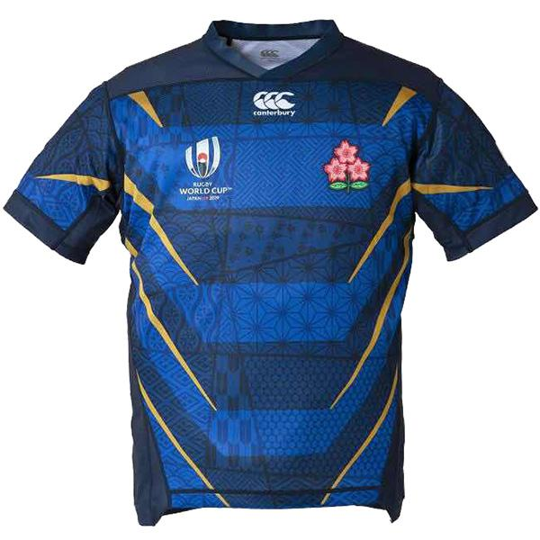 Japan away 2019 word cup rugby jersey national team RWC men's replica shirt blue
